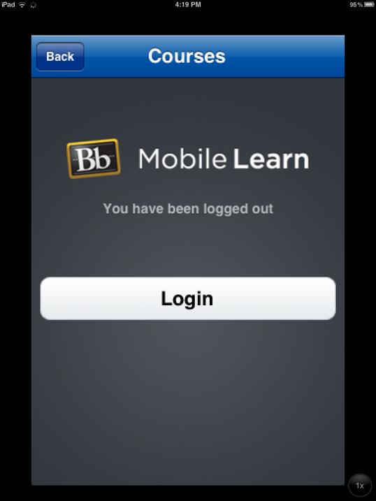 Blackboard through MATC 2 Go App